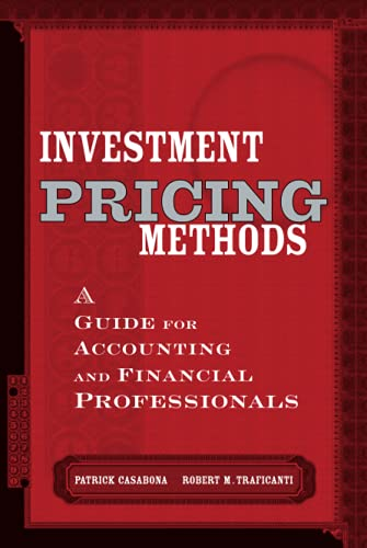 9780471177401: Investment Pricing Methods: A Guide for Accounting and Financial Professionals