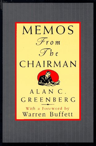 9780471177579: Memos from the Chairman