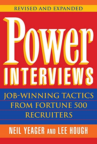 9780471177883: Power Interviews: Job-Winning Tactics from Fortune 500 Recruiters