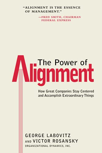 9780471177906: The Power of Alignment: How Great Companies Stay Centered and Accomplish Extraordinary Things