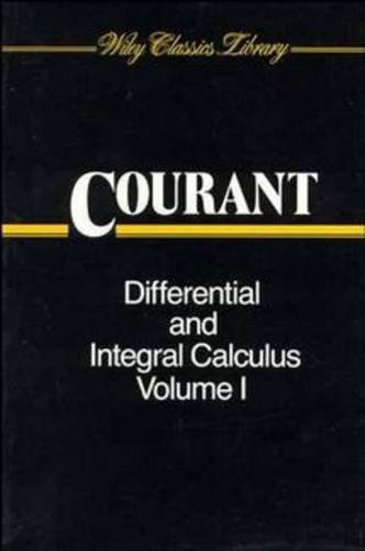 Differential and Integral Calculus: Courant, R.