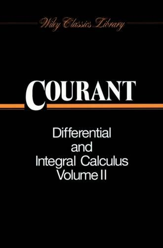 9780471178538: Differential and Integral Calculus: v. 2