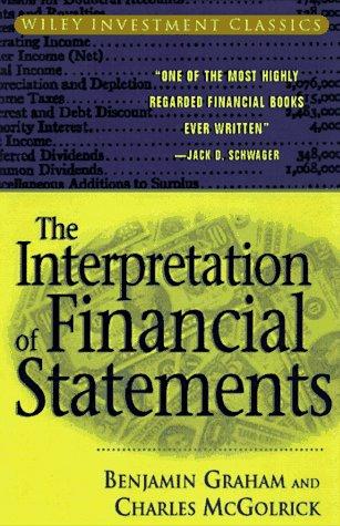 9780471178668: Interpretation of Financial Statements (Wiley Investment Classics)