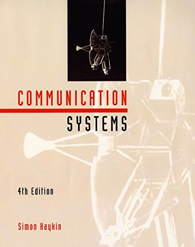 9780471178699: Communication Systems 4th Edition