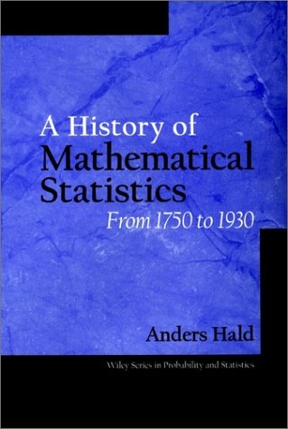 9780471179122: A History of Mathematical Statistics from 1750 to 1930: From 1750 to 1930