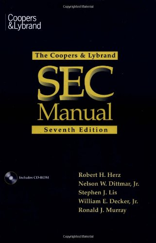 9780471179610: The Coopers & Lybrand SEC Manual