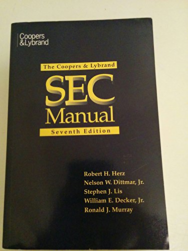 9780471179634: The Coopers & Lybrand SEC Manual