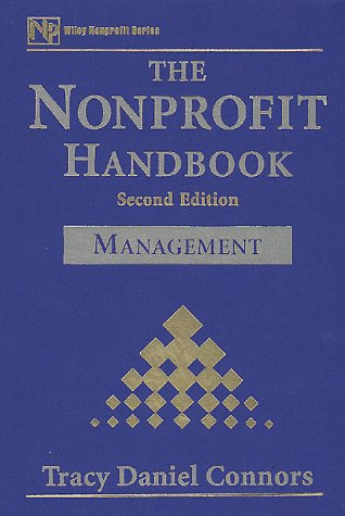 9780471179672: The Nonprofit Handbook, Management (Nonprofit Law, Finance, and Management Series)