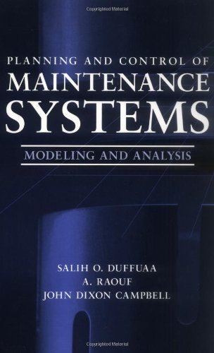 9780471179818: Planning and Control of Maintenance Systems: Modeling and Analysis