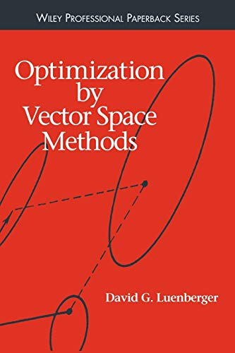 9780471181170: Optimization by Vector Space Methods
