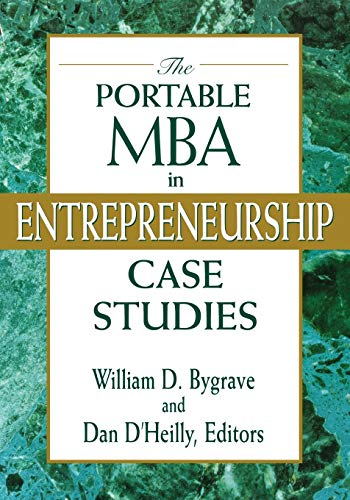 9780471182290: The Portable MBA in Entrepreneurship Case Studies