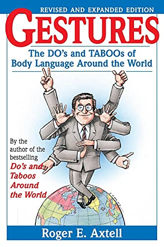 9780471183426: Gestures: The Do's and Taboos of Body Language Around the World