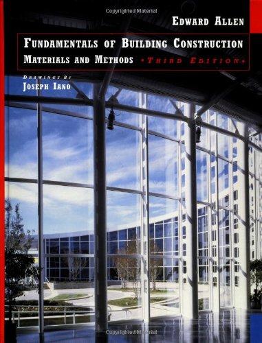 9780471183495: Fundamentals of Building Construction: Materials Amd Methods