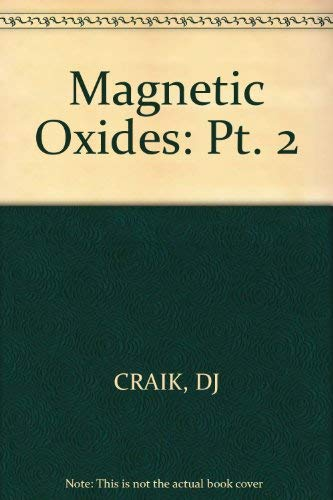 9780471183556: Magnetic Oxides, Part 2 (Pt. 2)