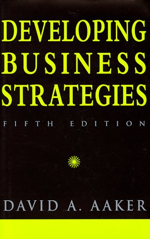 9780471183648: Developing Business Strategies