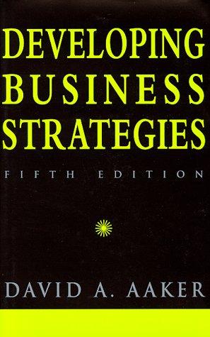 9780471183648: Developing Business Strategies