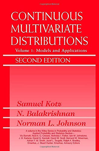 9780471183877: Continuous Multivariate Distributions: Models and Applications: 001 (Wiley Series in Probability & Statistics: Applied Probability & Statistics Section)