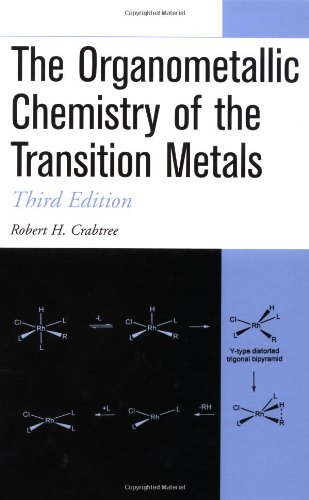 9780471184232: The Organometallic Chemistry of the Transition Metals