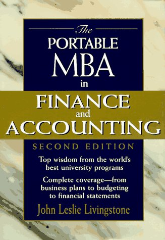 9780471184256: The Portable MBA in Finance and Accounting