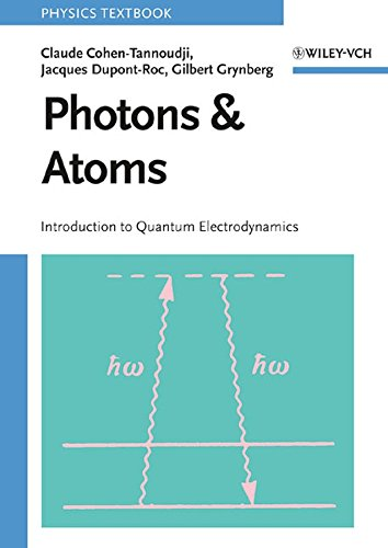 9780471184331: Photons and Atoms: Introduction to Quantum Electrodynamics (Wiley Professional)