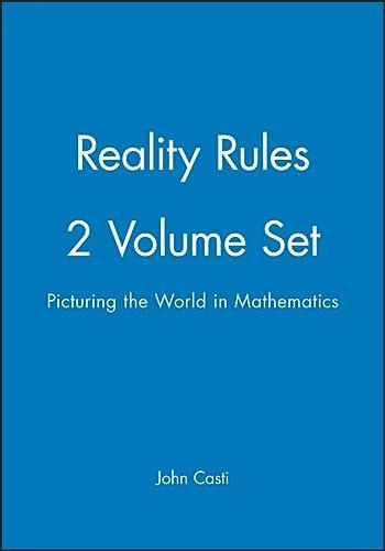 9780471184379: Reality Rules, 2 Volume Set