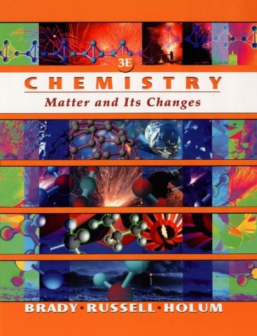 9780471184768: Chemistry: The Study of Matter and Its Changes
