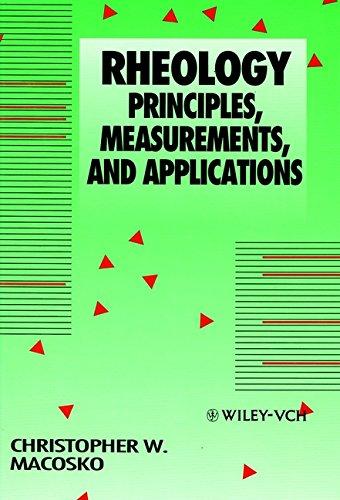 9780471185758: Rheology: Principles, Measurements, and Applications
