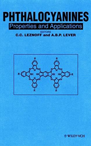 Phthalocyanines: v. 1 (Hardback): C. C. Leznoff