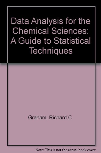 9780471187905: Data Analysis for the Chemical Sciences: A Guide to Statistical Techniques
