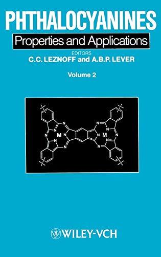Phthalocyanines: C. C. Leznoff