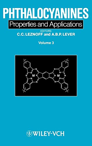 Phthalocyanines: Properties and Applications: v. 3 (Hardback): A. B. P.