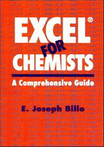 9780471188964: Excel? for Chemists: A Comprehensive Guide