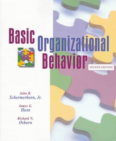9780471190264: Basic Organizational Behavior