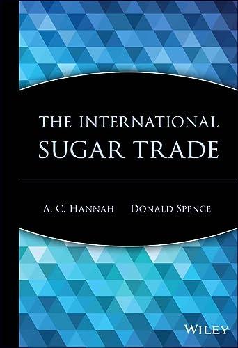 9780471190547: The International Sugar Trade (Wiley Trading)