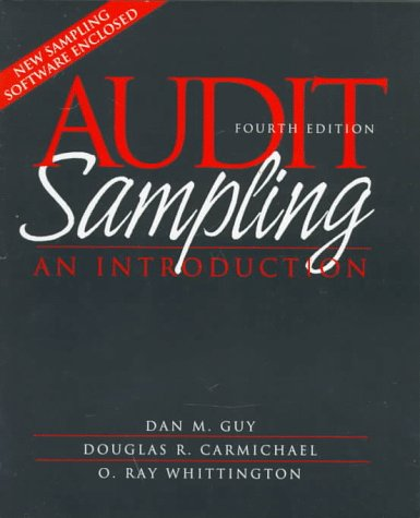 9780471190974: Audit Sampling: An Introduction to Statistical Sampling in Auditing