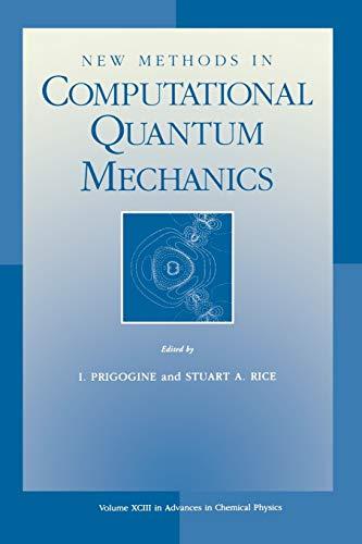 9780471191278: New Methods in Computational Quantum Mechanics (Advances in Chemical Physics)