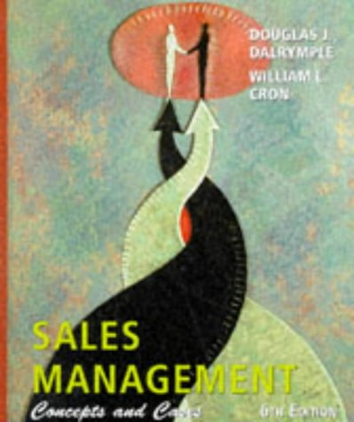 9780471191971: Sales Management: Concepts and Cases