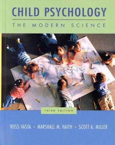 9780471192213: Child Psychology: The Modern Science