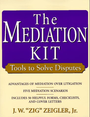 9780471192961: The Mediation Kit: Tools to Solve Disputes