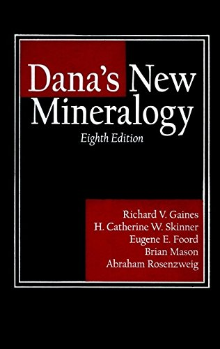 9780471193104: Dana's New Mineralogy: The System of Mineralogy of James Dwight Dana and Edward Salisbury Dana