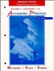 Accounting Principles, Chapters 1-13, Working Papers (Volume: Jerry J. Weygandt,