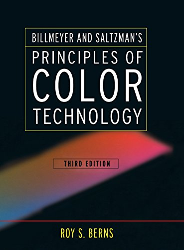 9780471194590: Billmeyer and Saltzman's Principles of Color Techn Technology 3e