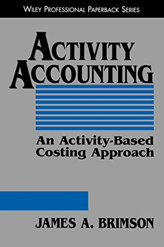 9780471196280: Activity Accounting: An Activity-Based Costing Approach
