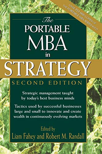 9780471197089: The Portable MBA in Strategy (Portable MBA Series)