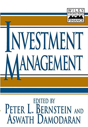 9780471197164: Investment Management (Frontiers in Finance)