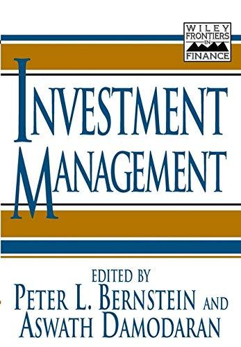 9780471197164: Investment Management