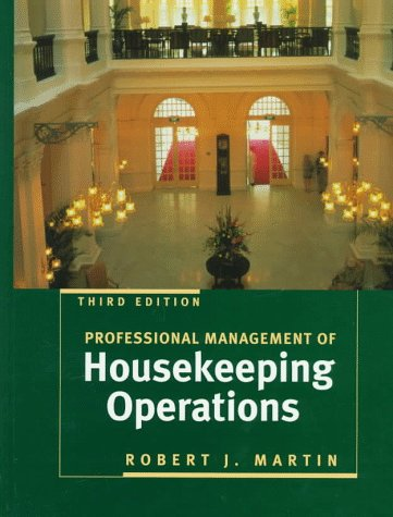 9780471198628: Professional Management of Housekeeping Operations