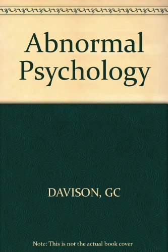 9780471199236: Abnormal Psychology