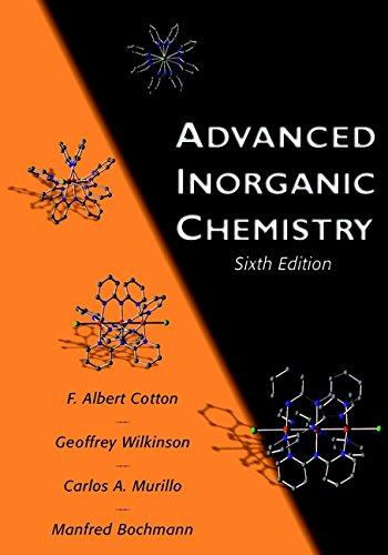 9780471199571: Advanced Inorganic Chemistry: A Comprehensive Text