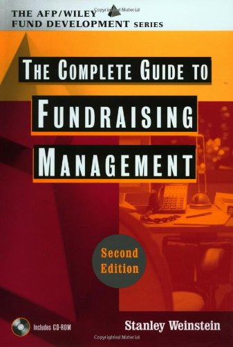 9780471200192: The Complete Guide to Fundraising Management (Wiley Nonprofit Law, Finance and Management Series)